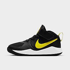 Boys' Little Kids' Nike Team Hustle D 9 Basketball Shoes