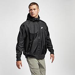 Men's Nike Sportswear Colorblock Windrunner Hooded Jacket