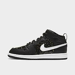 Girls' Little Kids' Air Jordan 1 Mid SE Casual Shoes