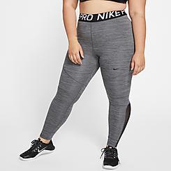 Women's Nike Pro Mesh Training Tights (Plus Size)