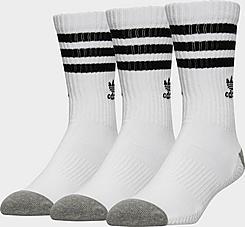 Men's adidas 3-Pack Roller Crew Socks