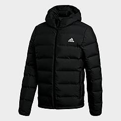 Men's adidas Helionic Hooded Down Jacket