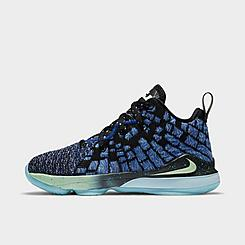 Little Kids' Nike LeBron 17 Constellations Basketball Shoes
