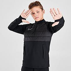 Boys' Nike Dri-FIT Academy Winter Warrior Drill Top