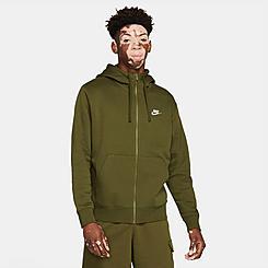 Men's Nike Sportswear Club Fleece Full-Zip Hoodie