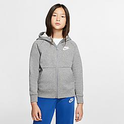 Girls' Nike Sportswear Full-Zip Hoodie