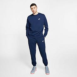 Men's Nike Sportswear Club Fleece Metallic Jogger Pants