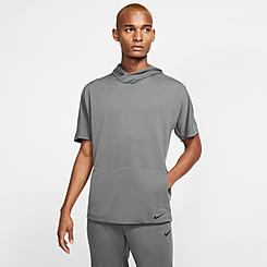 Men's Nike Yoga Dri-FIT Short-Sleeve Hoodie