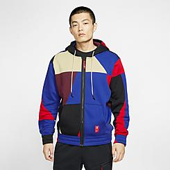 Men's Nike Kyrie Abstract Full-Zip Hoodie