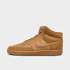 Men's Nike Court Vision Mid Casual Shoes