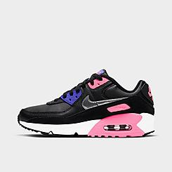 Girls' Big Kids' Nike Air Max 90 Casual Shoes