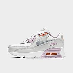 Girls' Little Kids' Nike Air Max 90 Casual Shoes