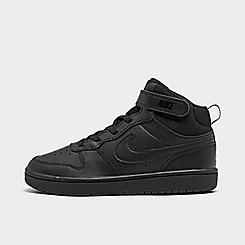 Little Kids' Nike Court Borough Mid 2 Casual Shoes