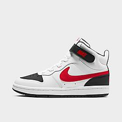 Boys' Little Kids' Nike Court Borough Mid 2 Casual Shoes