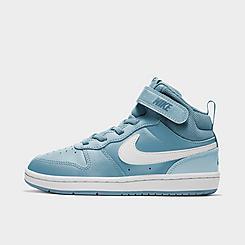 Little Kids' Nike Court Borough Mid 2 Casual Shoes