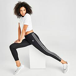 Women's adidas Originals Trefoil 3-Stripes Leggings