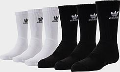 Kids' adidas Originals 6-Pack Crew Socks