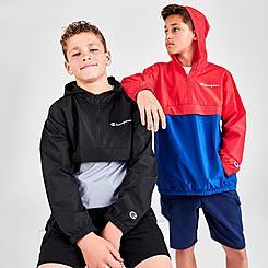 Boys' Champion Colorblock Half-Zip Pullover Hoodie
