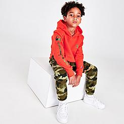 Boys' Little Kids' Champion C Camouflage Hoodie and Jogger Pants Set