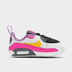 Girls' Infant Nike Air Max 90 Crib Shoes