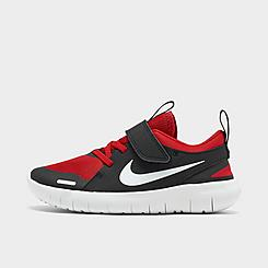 Boys' Little Kids' Nike Flex Contact 4 Hook-and-Loop Running Shoes