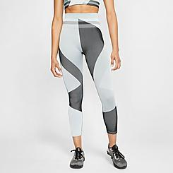 Women's Nike Sculpt Icon Clash Crop Running Tights