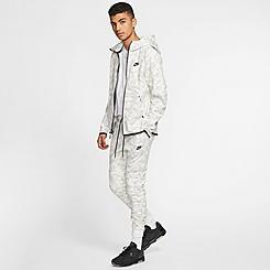 Men's Nike Sportswear Allover Print Tech Fleece Jogger Pants
