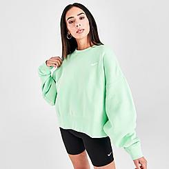 Women's Nike Sportswear Cropped Crew Sweatshirt