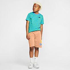 Kids' Nike Sportswear HBR Club Fleece Shorts
