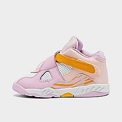 Girls' Toddler Air Jordan Retro 8 Basketball Shoes