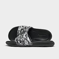 Men's Nike Victori One Print Slide Sandals