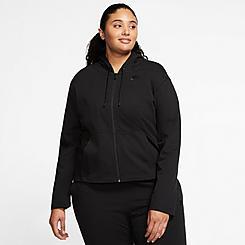 Women's Nike Sportswear Jersey Full-Zip Hoodie (Plus Size)