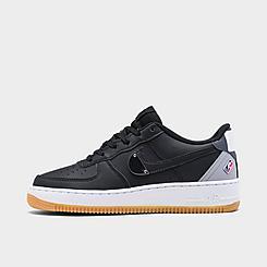 Boys' Big Kids' Nike Air Force 1 LV8 1 NBA SE Casual Shoes