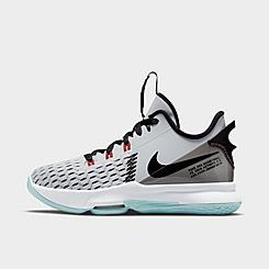 Big Kids' Nike LeBron Witness 5 Basketball Shoes