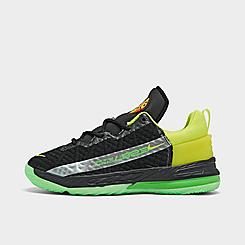 Little Kids' Nike LeBron 18 SE Basketball Shoes