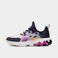 Boys' Big Kids' Nike React Presto Print Running Shoes