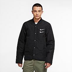 Men's Nike Sportswear SWOOSH Quilted Bomber Jacket