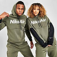 Nike Air Block Logo Fleece Hoodie