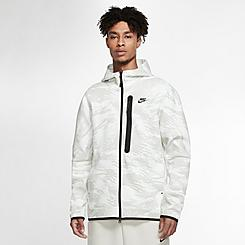 Men's Nike Sportswear Camo Tech Fleece Full-Zip Hoodie