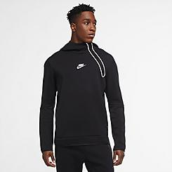 Men's Nike Sportswear Reflective Tech Fleece Half-Zip Hoodie