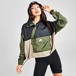 Women's Nike Sportswear Icon Clash Woven Anorak Wind Jacket
