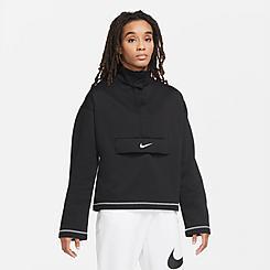 Women's Nike Sportswear SWOOSH Quarter-Snap Top