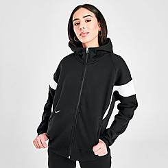 Women's Nike Sportswear Archive Remix Full-Zip Fleece Hoodie