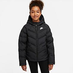 Kids' Nike Sportswear Chevron Colorblock Puffer Jacket