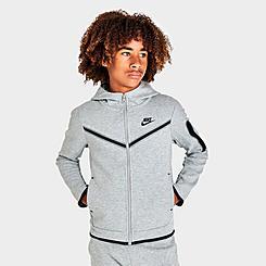 Boys' Nike Sportswear Tech Fleece Full-Zip Hoodie