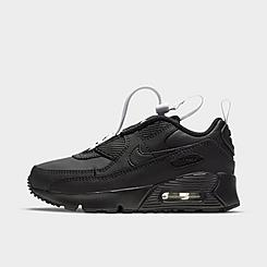 Little Kids' Nike Air Max 90 Toggle Casual Shoes