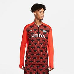 Men's Nike Dri-FIT Team Kenya Element Half-Zip Running Top