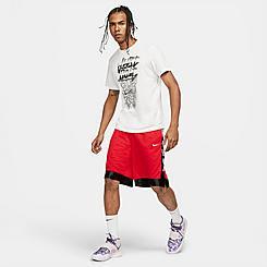 Men's Nike Dri-FIT Elite Stripe Basketball Shorts