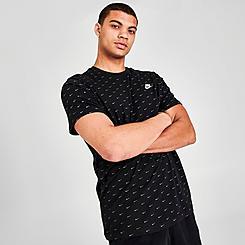 Men's Nike Sportswear Allover Mini Swoosh T-Shirt