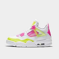 Girls' Big Kids' Air Jordan Retro 4 SE Basketball Shoes